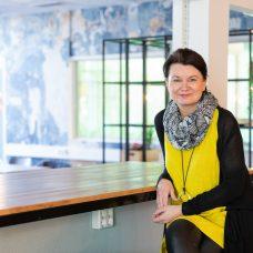 Professor Christina Salmivalli at the University of Turku