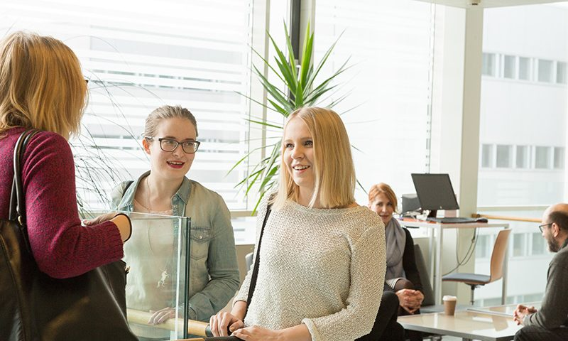 Students at the University of Turku